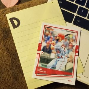 Matt carpenter baseball card